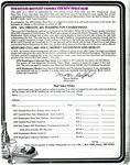 1978 Estate Bottled Yamhill County Pinot Noir Order Form by Myron Redford