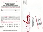 Amity Vineyards 12th Annual Pinot Noir Release Invitation (Back) by Amity Vineyards