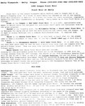 Amity Vineyards 1990 Oregon Pinot Noir Information Sheet