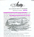 Amity Vineyards 1978 Winemakers Reserve Oregon Pinot Noir Release Announcement