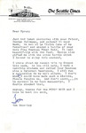 Letter from Tom Stockley to Myron Redford