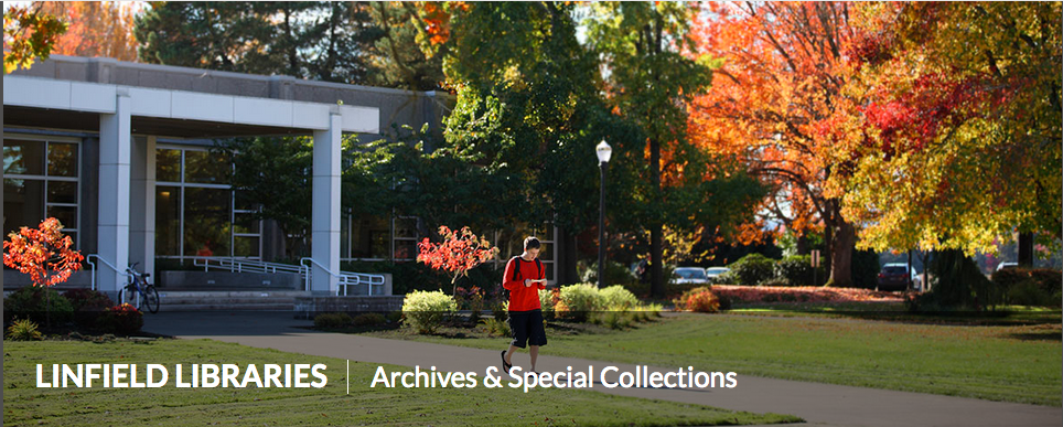 Linfield College Archives Finding Aids
