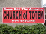Church of Totem Banner by Suzanna Sumkhuu