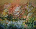 Caladium Schomburgkii (Alocasia) by Ronald Mills de Pinyas