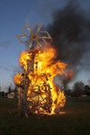 Hand in Hand Collaborative Burn Sculpture 31