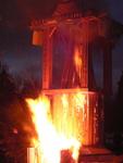 Temple of Inner Fire Collaborative Burn Sculpture 21