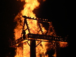 Temple of Inner Fire Collaborative Burn Sculpture 24
