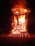 Temple of Inner Fire Collaborative Burn Sculpture 31