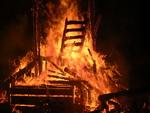 Temple of Inner Fire Collaborative Burn Sculpture 32