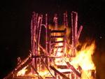 Temple of Inner Fire Collaborative Burn Sculpture 34