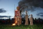 Fecundidad Collaborative Burn Sculpture 09