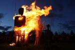 Fecundidad Collaborative Burn Sculpture 11