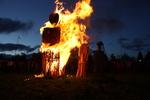 Fecundidad Collaborative Burn Sculpture 12