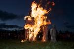 Fecundidad Collaborative Burn Sculpture 13