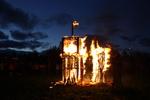 Fecundidad Collaborative Burn Sculpture 14