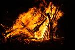 Fecundidad Collaborative Burn Sculpture 15