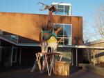 Playhouse for Nils Collaborative Burn Sculpture 01