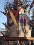 Playhouse for Nils Collaborative Burn Sculpture 04