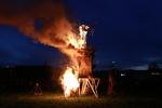 Playhouse for Nils Collaborative Burn Sculpture 21
