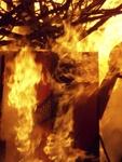 Playhouse for Nils Collaborative Burn Sculpture 25