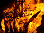 Playhouse for Nils Collaborative Burn Sculpture 26