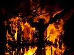 Playhouse for Nils Collaborative Burn Sculpture 28