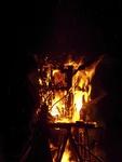 Playhouse for Nils Collaborative Burn Sculpture 29