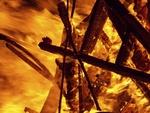 Playhouse for Nils Collaborative Burn Sculpture 32