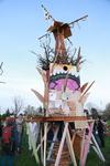 Playhouse for Nils Collaborative Burn Sculpture 18