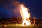 Playhouse for Nils Collaborative Burn Sculpture 24