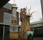Roots Collaborative Burn Sculpture 04