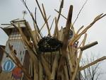 Roots Collaborative Burn Sculpture 07