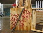 Roots Collaborative Burn Sculpture 08
