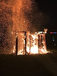 Amalgamation Collaborative Burn Sculpture 29