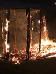 Amalgamation Collaborative Burn Sculpture 30