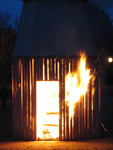 The Tenth Suite Collaborative Burn Sculpture 17 by Kathleen Spring