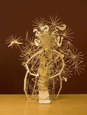Introduction To Studio Toothpick Sculptures Student