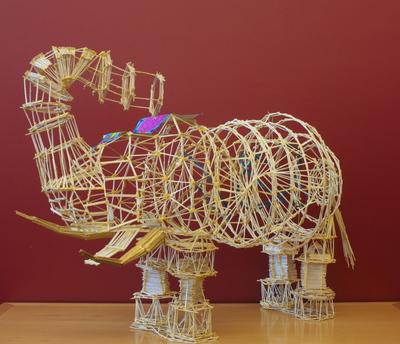 Toothpick Sculpture s.p. architecture - lessons - tes teach