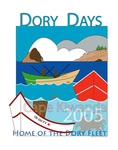 Dory Days 2005 Poster by Carol M. Johnson