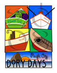 Dory Days 2008 Poster by Carol M. Johnson
