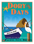Dory Days 2011 Poster by Carol M. Johnson