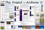 <em>Launching through the Surf</em> Traveling Exhibit Panel 19: The Project - Archives & More by Tyrone Marshall and Brenda DeVore Marshall