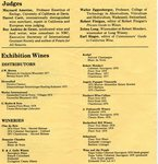 Enological Society 1979 Wine Festival Program (Pages 2 & 3)