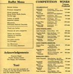 Enological Society 1979 Wine Festival Program (Pages 4 & 5)