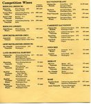 Enological Society 1979 Wine Festival Program (Pages 6 & 7)