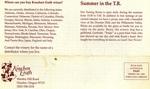 Knudsen Erath 18th Annual Harvest Festival Newsletter (Back Cover)