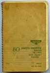 Erath Notebook 01: Cover by Dick Erath