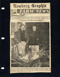 Newberg Graphic Farm News Clipping by Unknown
