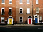 Colored Doors by Laura White