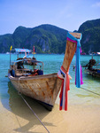 The Longboats of Phi Phi Don by Amanda Contreras